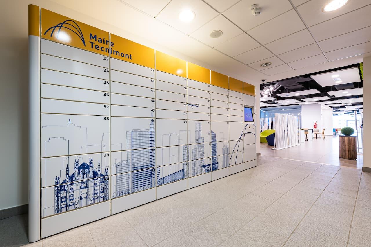Smart Locker WIB in Maire Tecnimont