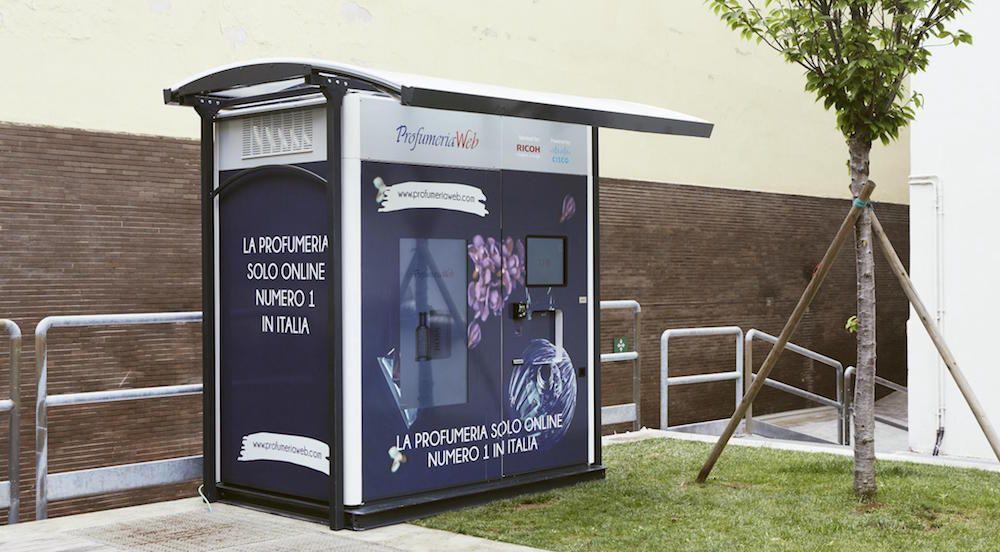 smart vending machine wib copernico milano