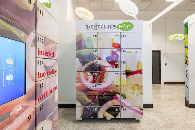 Smart Locker refrigerati